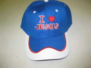 NEW I Love Jesus Hats/Caps Assorted Styles To Choose