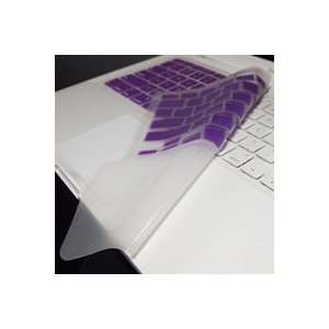 TopCase PURPLE Keyboard Silicone Skin Cover with palm rest area