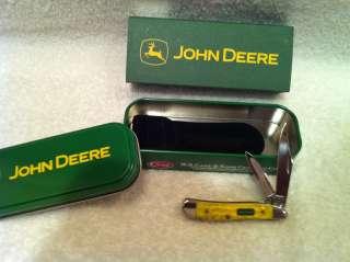 Case XX John Deere Yellow Peanut Knife