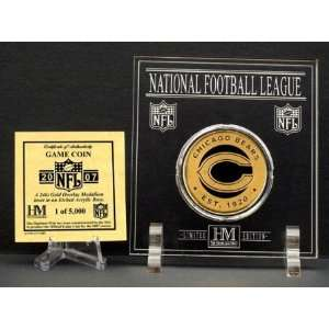 Official 2007 NFL Team Game Coin   Chicago Bears