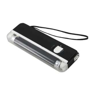 UV Black Portable Fake Money ID Detector Lamp Hand Held Light Torch