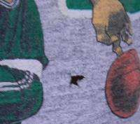 Vtg LARRY BIRD BOSTON CELTICS 80s t shirt SMALL NBA BASKETBALL