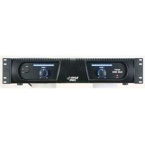 Pyle, 3000W Pro Audio Power Amp (Catalog Category Musical