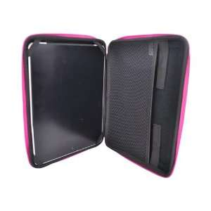 BLACK HOT PINK Kroo USA Cube Sleeve Case For Apple iPad