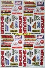 pocket dirt racing bike kit polaris atv sticker decal