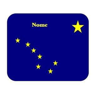 US State Flag   Nome, Alaska (AK) Mouse Pad Everything