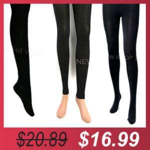 3Pairs Best SET Black Over knee Socks, Leggings, Tights