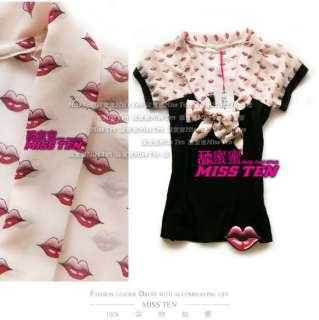 Stunning Chiffon Bow FORNARINA Ladys Cool T shirt Top