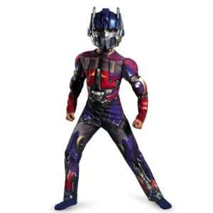 Boys Transformers Optimus Prime Muscle Costume & Mask