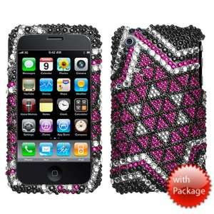 Solitaire Diamante Crystal Protector Cover for Apple