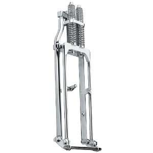 Chrome Springer Fork 4 inch over   Big Twin Models 49 to newer