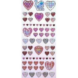 Cute Japanese Pink Heart Stickers (PVC) Toys & Games