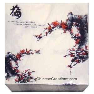 / Chinese Paper Napkins   Cherry Blossom (Set of 20): Home & Kitchen