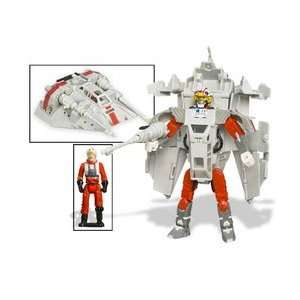 Star Wars TransformersLuke Skywalker Snowspeeder Figure