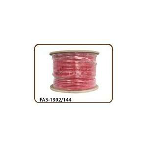 Fire Alarm Cable Unshielded FPLP CMP 14AWG 4 Conductor PVC