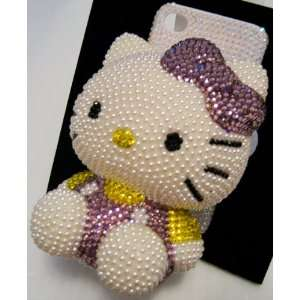 3D Hello Kitty Iphone 4/4s Case + Screen Protector