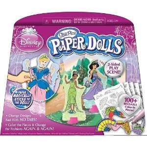 Disney Princess Stik Pics Paper Dolls Kit Toys & Games
