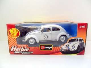 BURAGO 1/18 2020 HERBIE FULLY LOADED #53