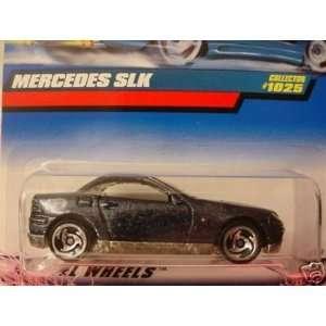 Mattel Hot Wheels 1999 164 Scale Black Mercedes SLK Die