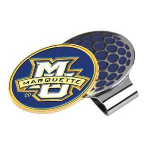 Marquette Golden Eagles Collegiate Hat Clip and Ball