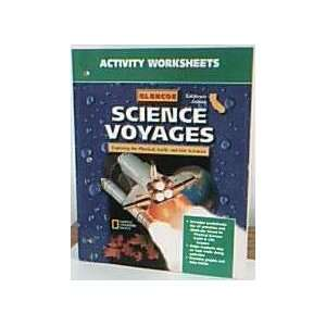 Sci Voy California Level Blue Activity Worksheets 2001 McGraw Hill