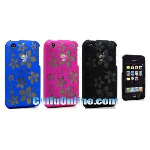 Cuffu iPhone 3G 3Gs LASER Rubber Crystal Hard Case Covers