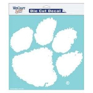 Clemson Tigers 8x8 Die Cut Decal