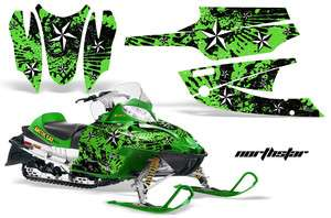 WRAP STICKER KIT ARCTIC CAT FIRECAT SABERCAT F5 F6 F7 03 06 NSG