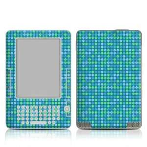 Dots Blue Design Protective Decal Skin Sticker for