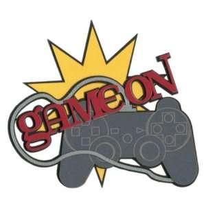 Video Games Game On Laser Die Cut Toys & Games