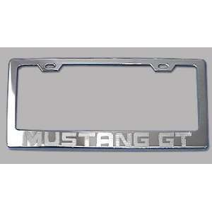 Ford Mustang GT Chrome License Plate Frame Everything