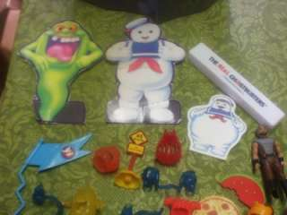 VINTAGE REAL GHOSTBUSTERS ACTION FIGURES,MONSTERS PLAYSET LOT & CASE