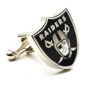 Oakland Raiders Logod Executive Cufflinks & Jewelry Box