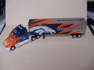 DENVER BRONCOS NFL TRACTOR TRAILER TRUCK 2001 NEW IN BOX
