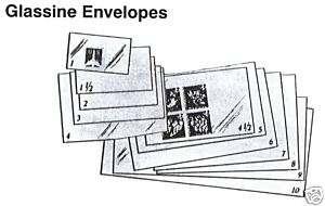 POSTAGE STAMPS   GLASSINE ENVELOPES   # W103   100 Pack