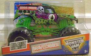 HOT WHEELS MONSTER JAM 1/24 GRAVE DIGGER TRUCK *NEW*