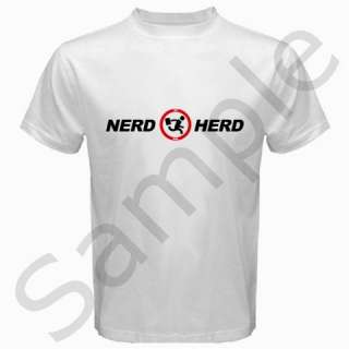 New Nerd Herd Geek Tech Support Buy More Chuck Adult Tee T Shirt S