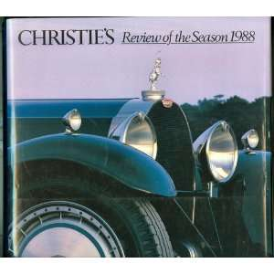 Christies Review of the Season 1988 Mark Wrey Books
