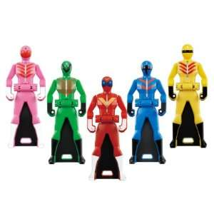 Power Ranger Gokaiger Ranger Key Set 03: Toys & Games