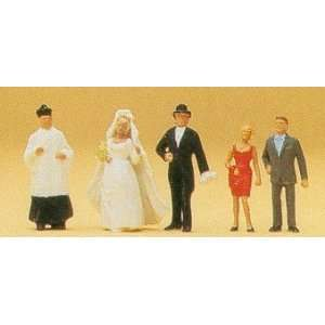CATHOLIC WEDDING GROUP   PREISER HO SCALE MODEL TRAIN