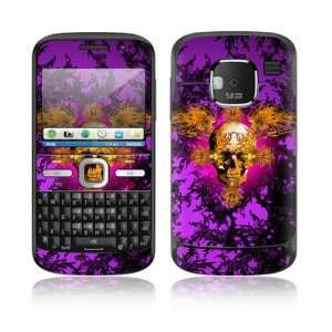 Gothika Skull Design Decorative Skin Cover Decal Sticker for Nokia E5