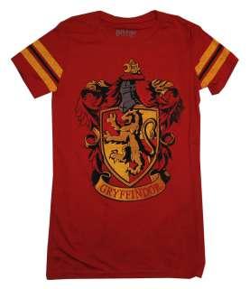 Harry Potter Hogwarts Gryffindor House Crest Athletic Juniors Babydoll