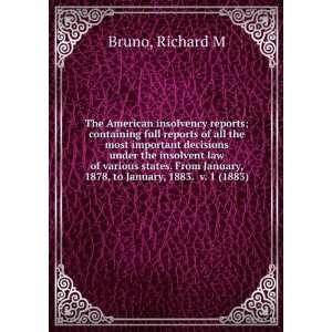 to January, 1883. v. 1 (1883) (9781275220133) Richard M Bruno Books