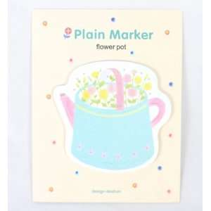 Cute Nature Theme Sticky Notes (Flower Pot) Office