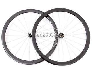 Hylix Carbon Clincher Wheels/Wheelset Road bike 1410g
