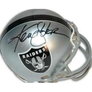 Ken Stabler Signed Mini Helmet