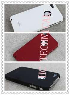 Newest Moshi iGlaze 4 Hard Shell Case Cover for i Phone 4 4G