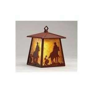 Meyda Tiffany Custom Lighting 82662 Cowboy 1 Light Hanging Wall Sconce