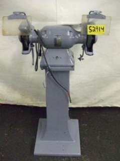 BALDOR Pedestal Grinder / with Wire & Grinding Wheels   Single Phase