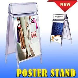Double Sided Sidewalk Snap A Frame Poster Stand Display